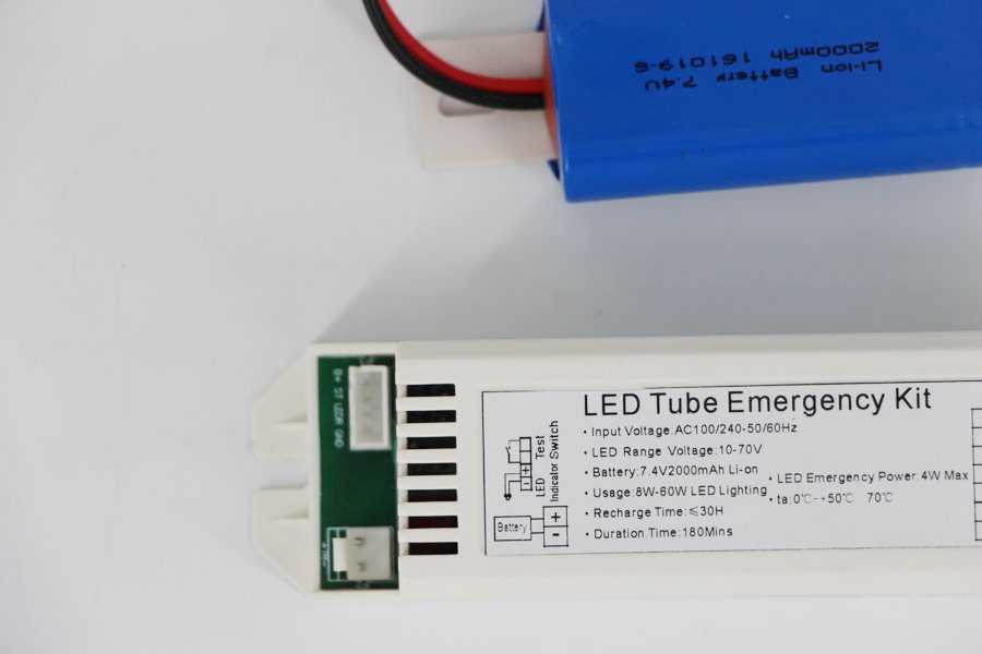 10%-80% lumens output emergency kit for led tube
