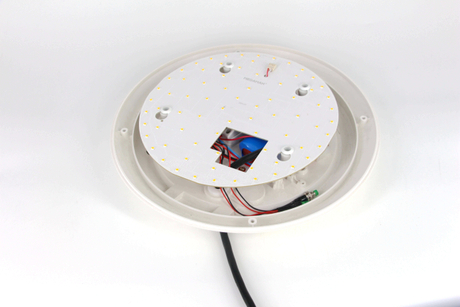 22w surface ceiling light emergency pack with battery