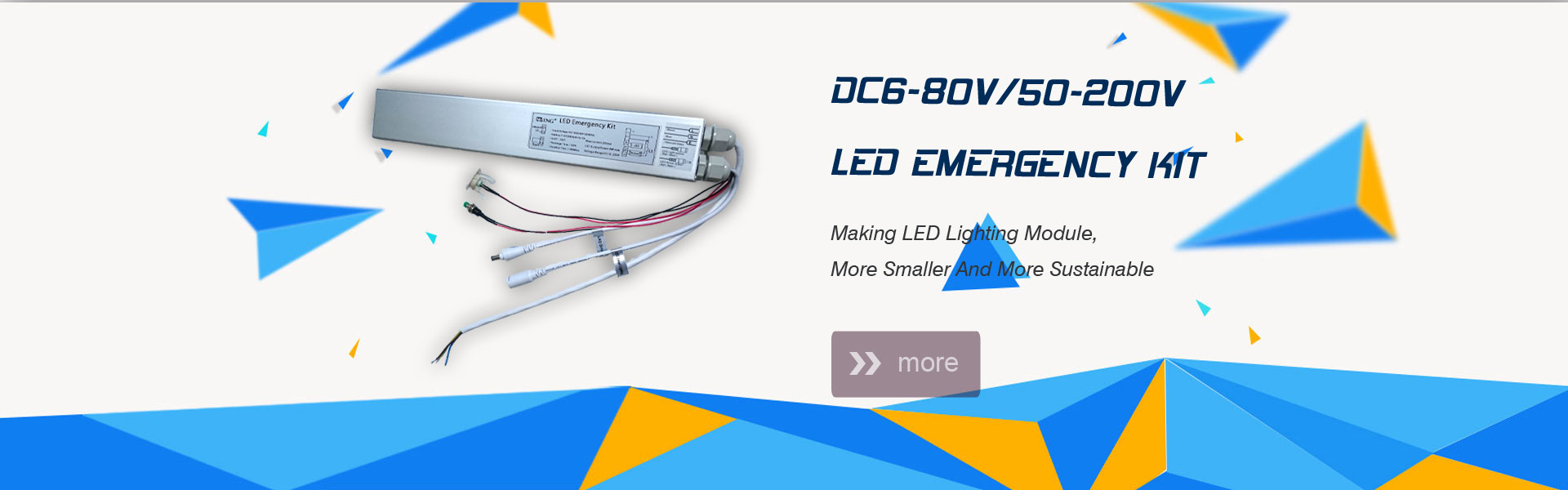 led emergency inverter