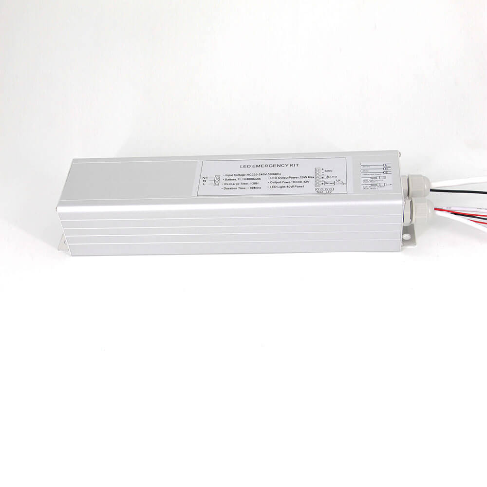 50% Lumens LED Emergency Battery Power Pack for 40w LED Panel
