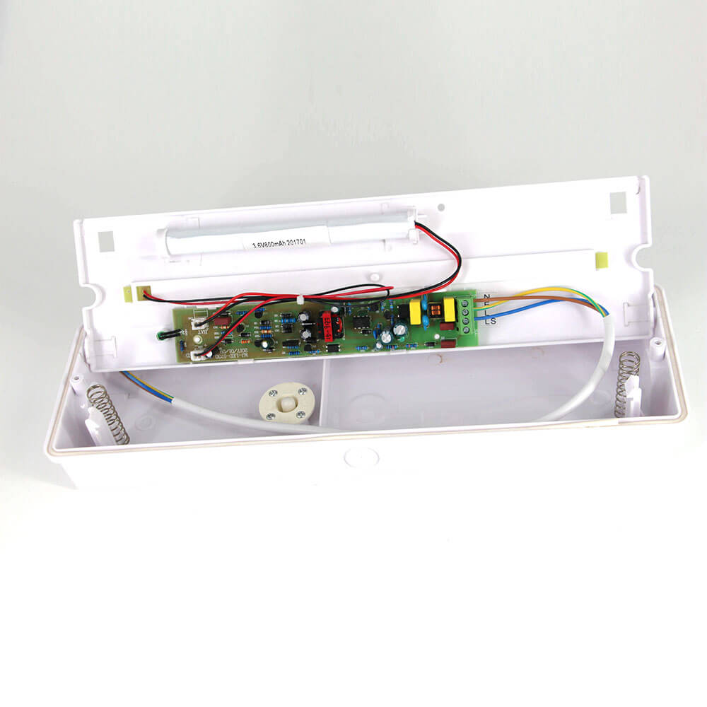LED EMERGENCY BULKHEAD BATTERY BACKUP CE